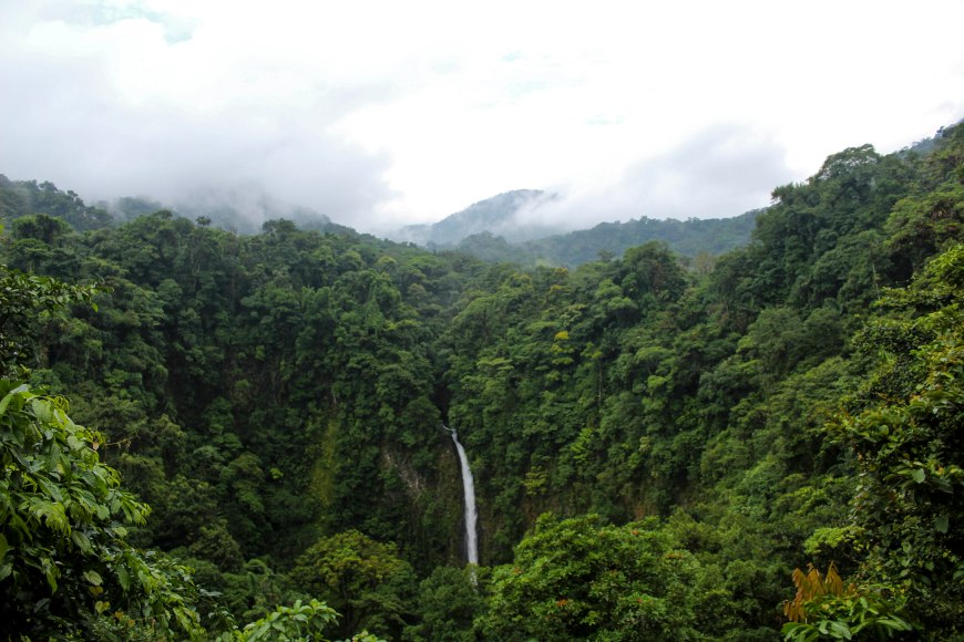 Catarata de la Fortuna,