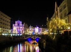 The beautiful Christmas markets of Ljubljana