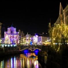 The beautiful Christmas markets of Ljubljana
