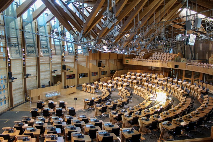 debating-chamber-holyrood-edinburgh-scotland