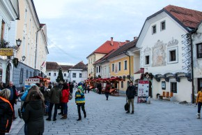 The main street in Radovljica