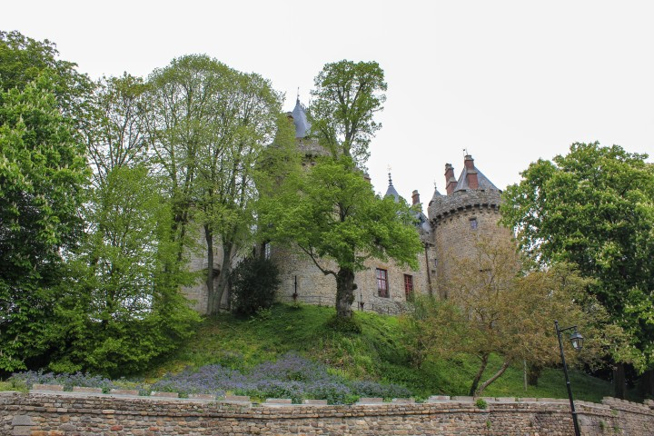 Castle at Combourg, Brittany, France