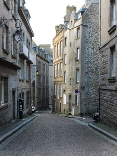 The high buildings of Saint-Malo