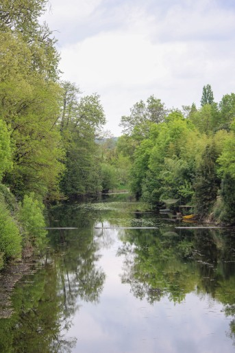 The River Vendée in Fontenay-le-Comte