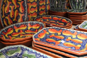 More pottery in Loulé market