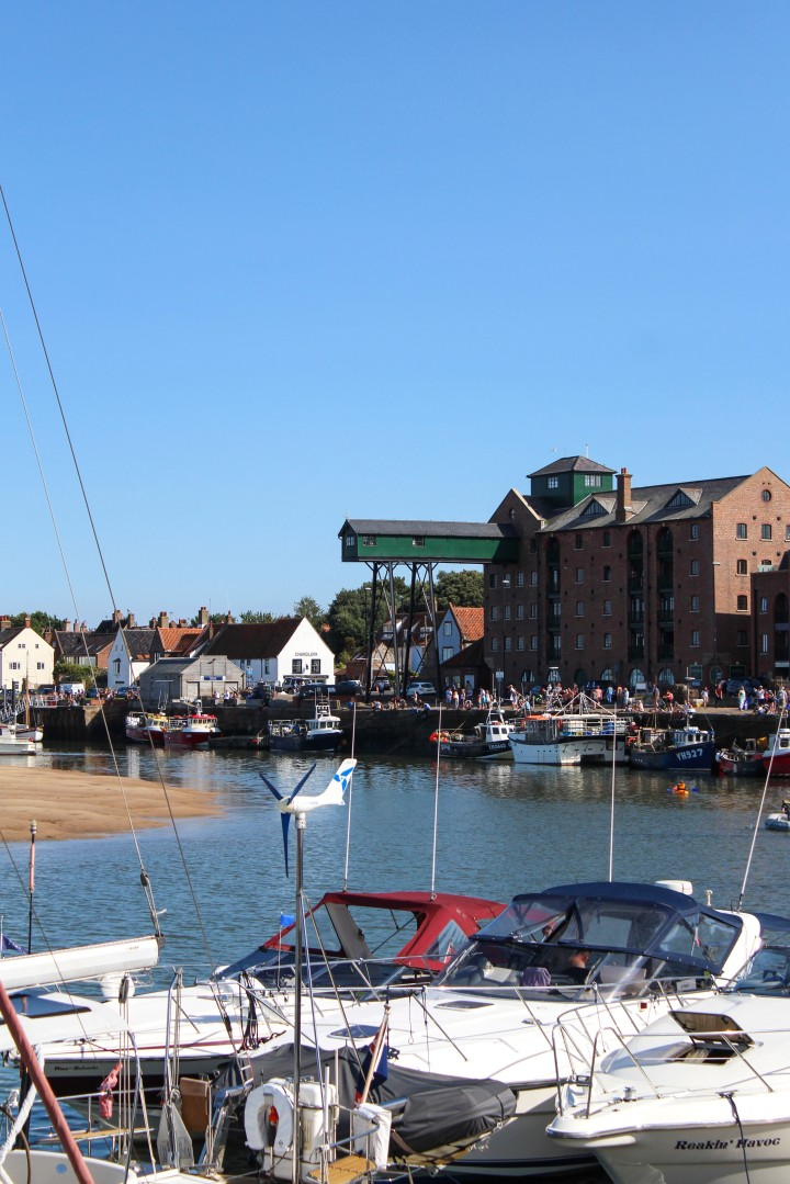 The harbour at Wells-next-the-Sea, Norfolk