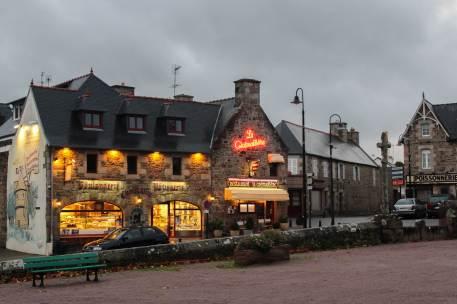 The cosy La Crémaillère restaurant
