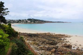 The beach at Perros-Guirec