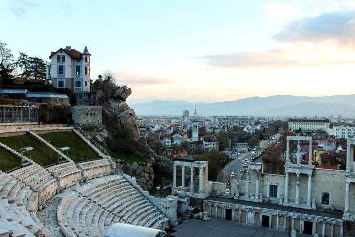 Roman Theatre, Plovdiv, Bulgaria