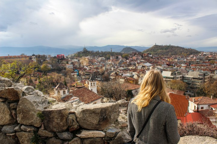 The view from Nebet Tepe, Plovdiv, Bulgaria