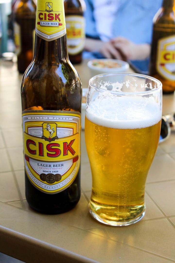 Cisk, Malta's famous beer