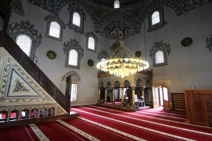 Inside Sinan Pasha Mosque, Prizren, Kosovo