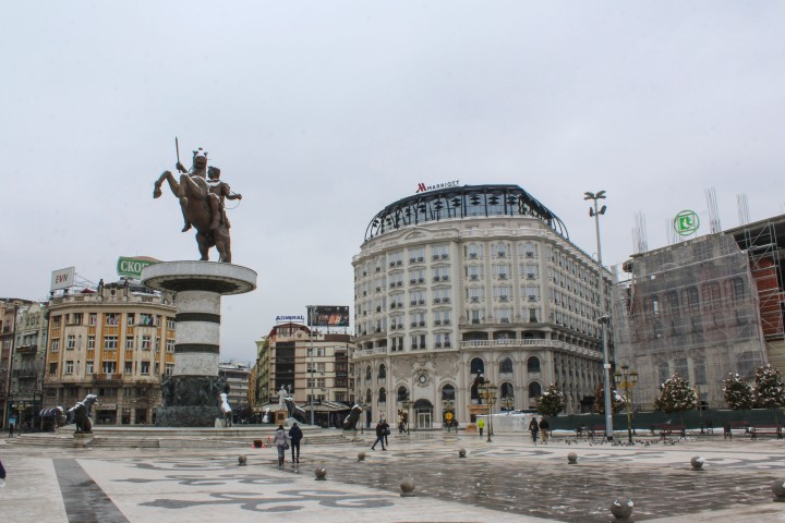 Macedonia Square, Skopje, Macedonia