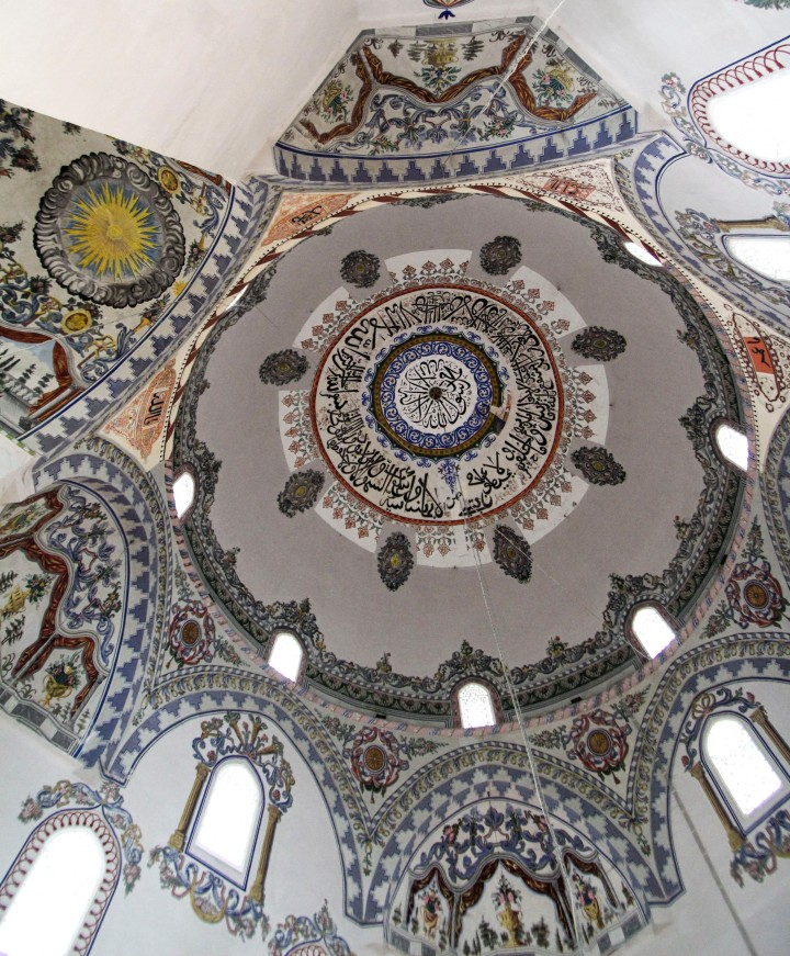 The ceiling of Sinan Pasha Mosque, Prizren, Kosovo