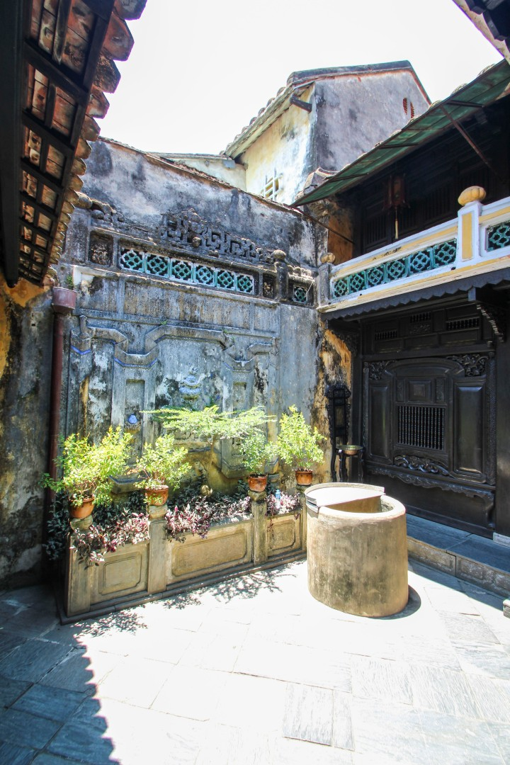 Inside the House of Tan Ky, Hoi An, Vietnam