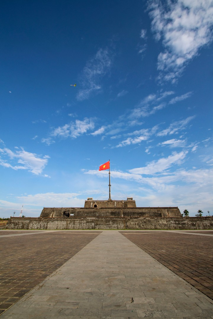 Inside the Imperial Palace, Hue, Vietnam