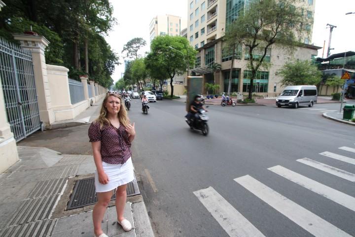 Traffic in Ho Chi Minh, Vietnam