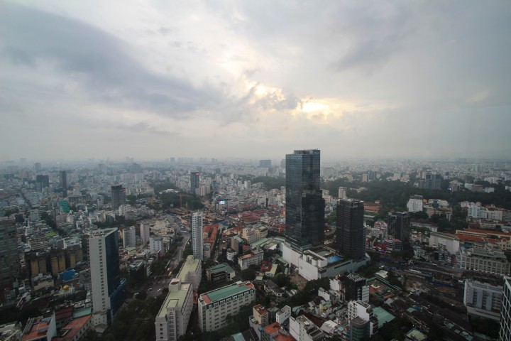 View from the BitExco Tower, Ho Chi Minh, Vietnam