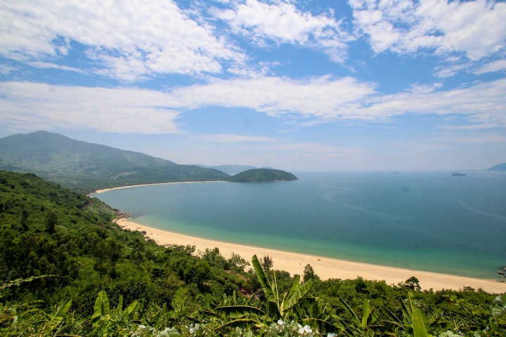 View from the Hai Van Pass, Vietnam