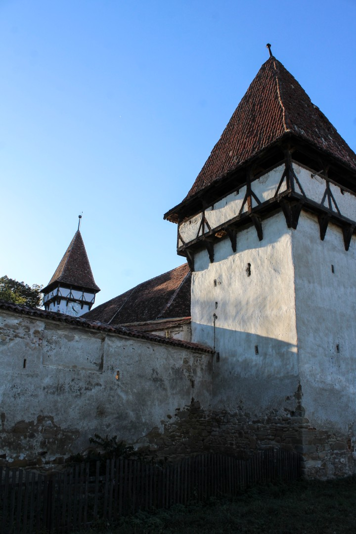 Fortified Church in Cincsor, Romania