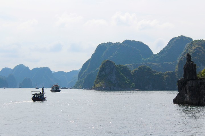 Ha Long Bay is a magical, mystical place