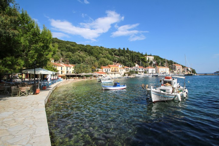 Kioni harbour, Ithaca, Greece