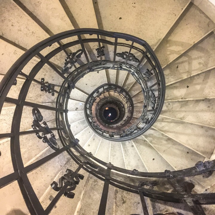 Stairs at the Basilica, Budapest, Hungary