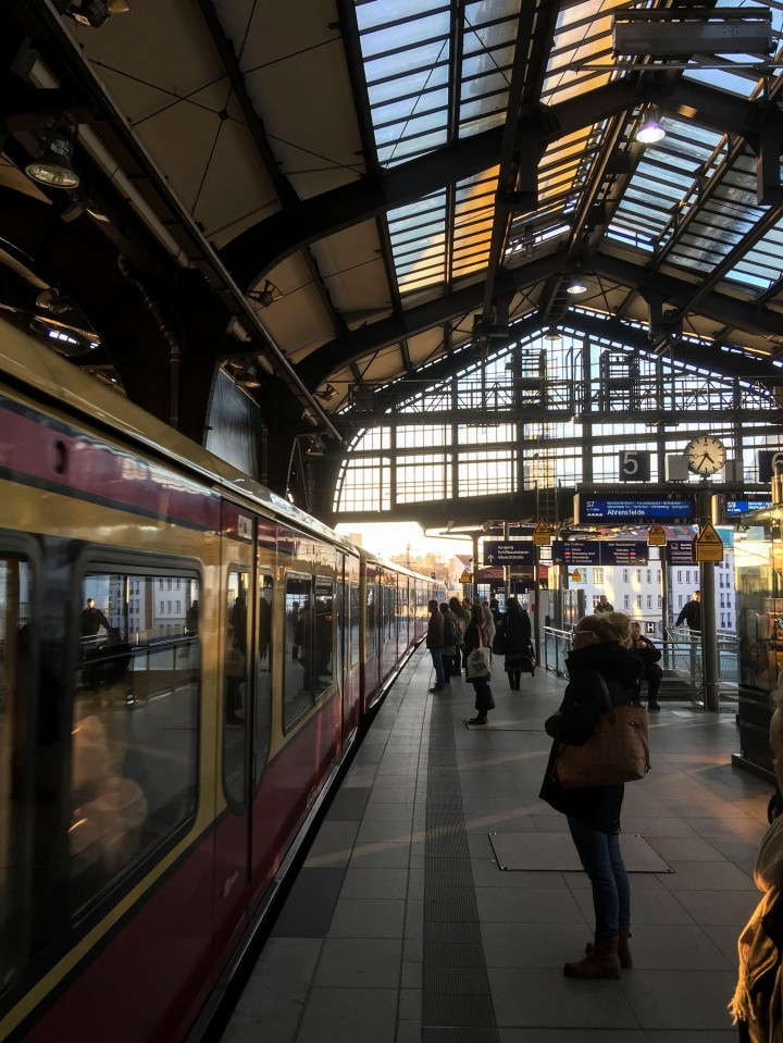 Station in Berlin, Germany