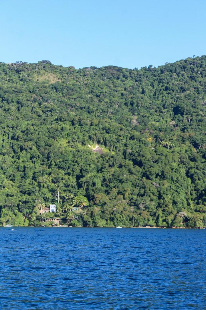The view of Asalem, Ilha Grande, Rio de Janeiro, Brazil