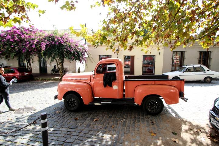 Ford truck in Colonia del Sacramento, Uruguay