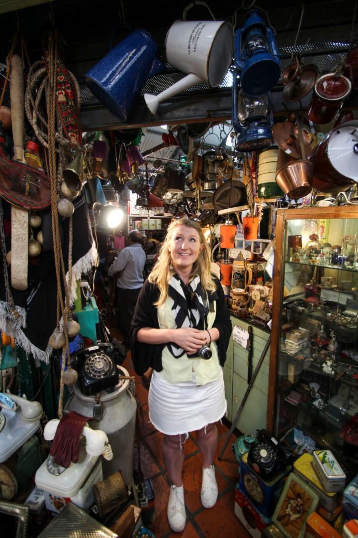 Nicola at the Mercado San Telmo, Buenos Aires, Argentina