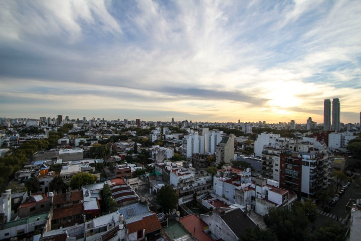 Rooftops of the city, Buenos Aires, Argentina