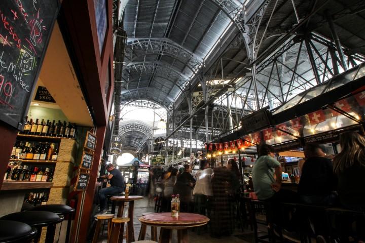 The Mercado San Telmo, Buenos Aires, Argentina