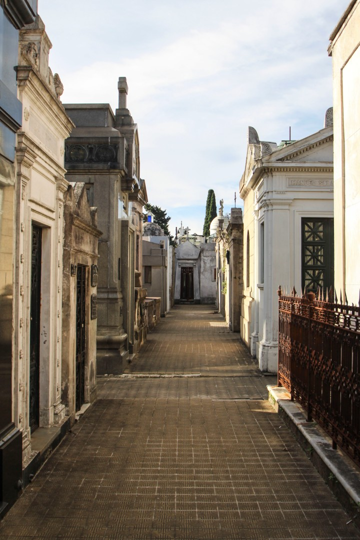 Tombs at La Recoleta Cemetery, Buenos Aires, Argentina