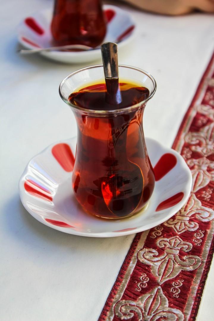 Tea in Istanbul, Turkey