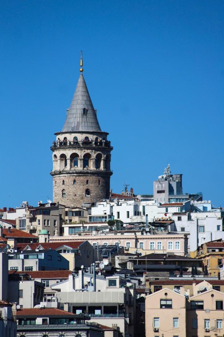 The Galata Tower, Istanbul, Turkey